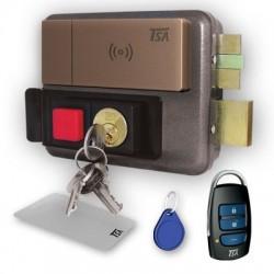 قفل برقی با ریموت حیاط یا پارکینگ